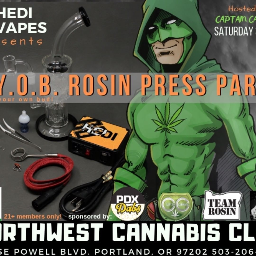 Super excited to be a part of these epic events in portland.  #NWcannabisclubs #…