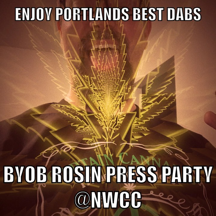 Friday 8PM join #captaincannabis and friends as we host the BYOB rosin press par…